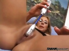 Her pussy squirts from... from Alpha Porno