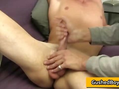 Gay clip of amazing te...
