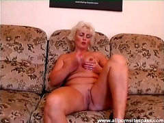Red dildo does this ma... from Alpha Porno