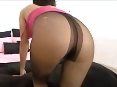 British pantyhose mast... from Xhamster