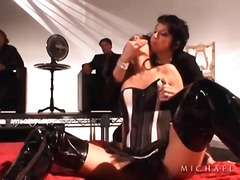 Alpha Porno - Lingerie and boots gir...