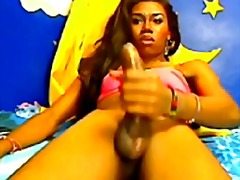 Webcam shemale jerks h... from aShemaleTube