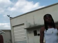 Horny ghetto guy bangs... from BoyFriendTV
