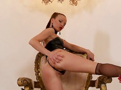 Czech mistress inside ...