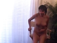 Brunette with big boob... from Xhamster