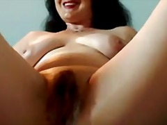 Wet mommy fingering as...