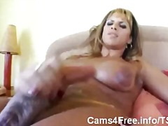 Happy tgirls cum is fo... from aShemaleTube