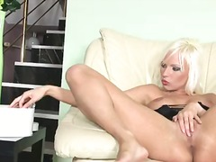 Platinum blonde alexis...