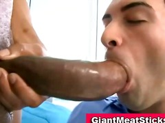 Twink gets mouthful of...