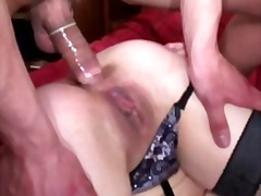 H2porn - Anal french with horny...