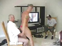 Mature guys fucking on...