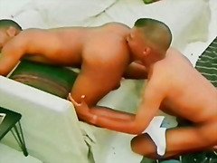 Black gay ass fingering