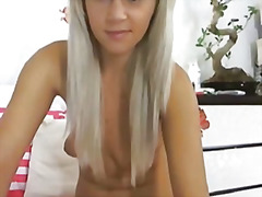 Cute blonde girl finge... from H2porn