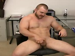 Gay bear beating off a... from BoyFriendTV