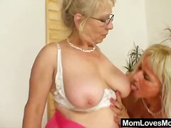 Well-endowed grandma p...