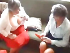 Two grannies try out t...