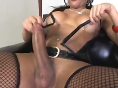 The hottest latina tgi... from aShemaleTube