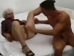 Silver haired granny f... from H2porn