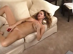 Xhamster - Hot chick using a dild...
