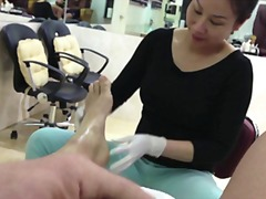 Pedicure delight from Xhamster