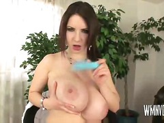 Huge tits in wet shirt from PornoXO