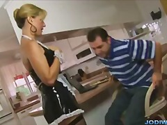 Jodi west french maid ...