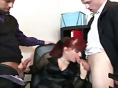 Office bitch pleases t...
