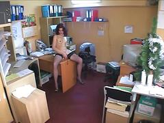 Voyeur Hit - Candid brunette on off...