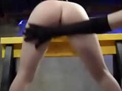 Lesbian caning electri... from Xhamster