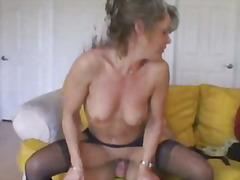Cougar fucks cub, old ... from H2porn