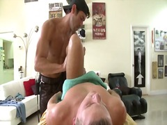 Straight guy gets hard... from BoyFriendTV