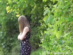 Teen public nudity and...