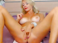 Stunning busty blonde ... from H2porn