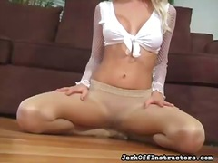 Hot teaser drills her ...