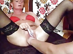 Fist fucking the wifes...