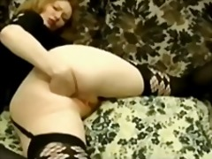 Slut fisting herself bvr