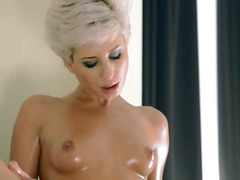 Horny glamours play wi...