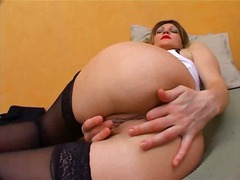 Bitch in stockings tes... from Sun Porno