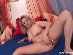 Curly hot mature strip... from IcePorn