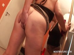 Slutty mature in boots... from IcePorn