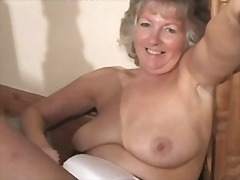 Adorable granny in bla... from Xhamster