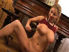 Busty and crazy babe n...