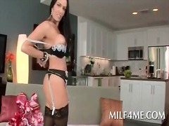 Kinky milf in lingerie... from IcePorn