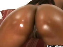 Crazy ebony slut named...