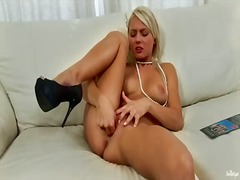 Young blonde hottie an... from BeFuck