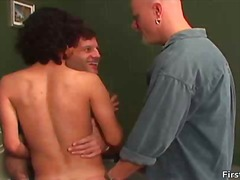 Gay guys get naked and... from BoyFriendTV
