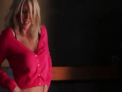 Blonde undressing puss... from IcePorn