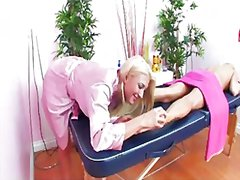 Massage table fun with... from Redtube