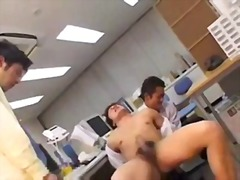 Office sex break