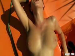 Sun Porno - Big tits czech girl bo...